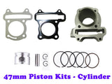 QMB139 47MM Big Bore Cylinder Engine Kit