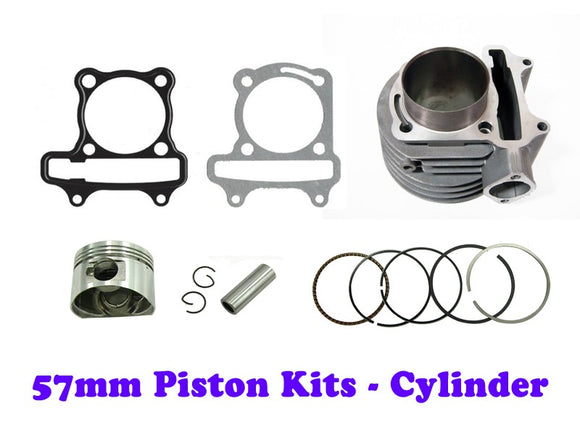 57mm GY6 150cc Cylinder Engine kit