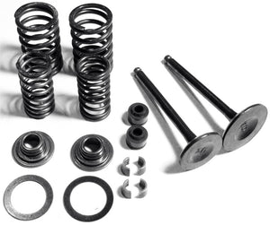 valves springs clips Rebuild kit GY6 150CC 125CC - ChinesePartsPro
