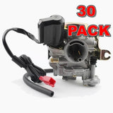 30*Carburetor for 4 Stroke GY6 49cc 50cc Chinese Scooter Moped Taotao Kymco