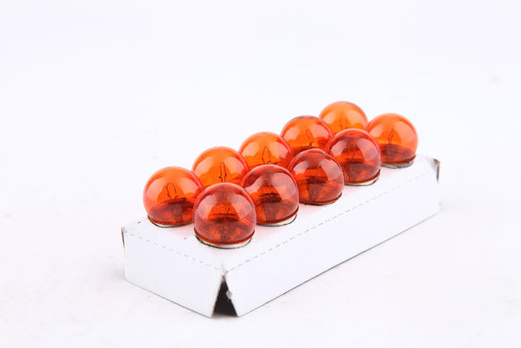 Bulb 12v 10w Ba15s - 10 Pack Amber cf250 250cc - ChinesePartsPro