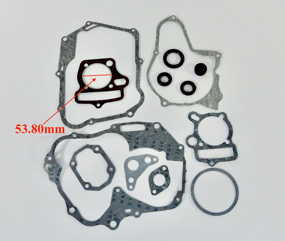 125cc Engine Gasket Set horizontal style