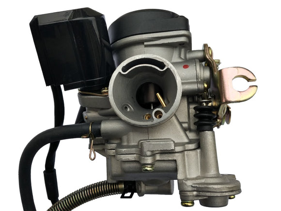 True 19mm Performance Carburetor-139QMB & GY6 Scooter Carb-KEIHIN CVK 50cc