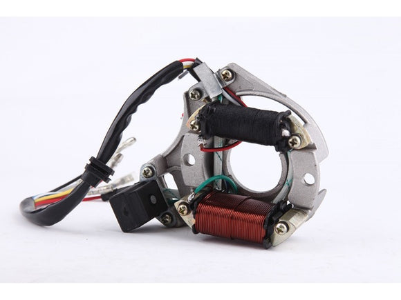 2-Coil Magneto Stator for 50cc 70 cc 90 cc 110cc 125 cc ATVs Dirt Bikes Go Karts - ChinesePartsPro