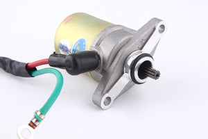 Electric Starter Motor GY6 50CC 10 Teeth Splines - ChinesePartsPro