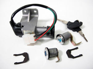 Ignition Key Switch lock cylinder GY6 50CC - ChinesePartsPro