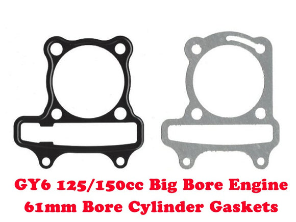 GY6 125cc/150cc Big Bore 61mm Cylinder Gasket Set