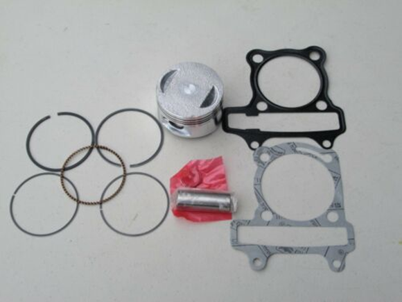 GY6 Piston Kit & Top End Gaskets 57.4mm