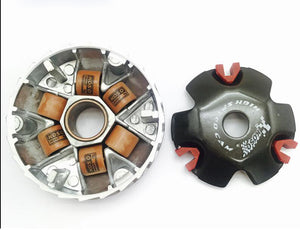 High Performance Variator Drive Pulley with 8 gram Roller Weights for Chinese Scooter GY6 50cc 80cc 100cc