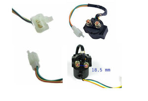 Universal Solenoid/relay GY6 50cc 125cc 150cc Chinese Scooter ATV - ChinesePartsPro