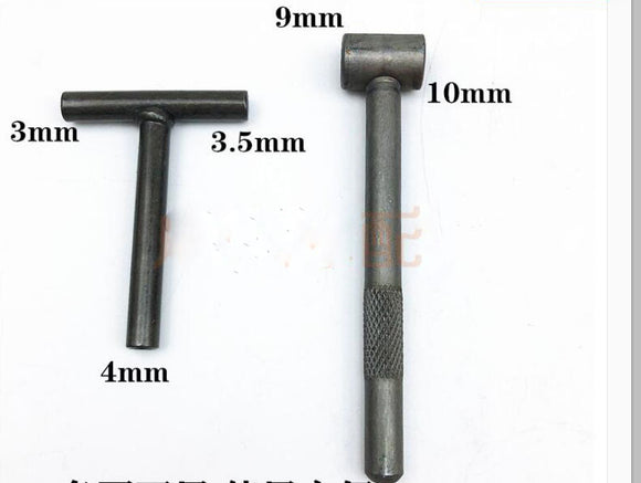 VALVE  TAPPET ADJUSTING TOOL SET 9mm HEX HEAD & 3mm SQUARE HEAD WRENCH
