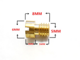 10 Piece CycleMore 150cc 125cc GY6 CVK MAIN JET SET FOR CHINESE SCOOTERS ATVS KARTS
