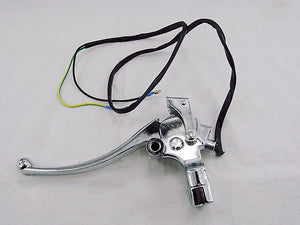 Brake Handle lever Assembly for rear (left Side) gy6 - ChinesePartsPro