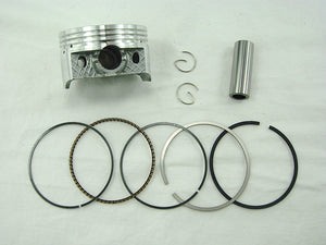 61mm Piston Set  GY6 180cc Engines - ChinesePartsPro