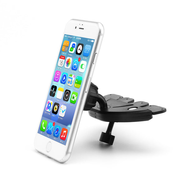 Car Mount Phone Holder Magnetic CD Slot Car Smartphone 360 Degree Stand for iPhone X Samsung S8 GPS Tablets