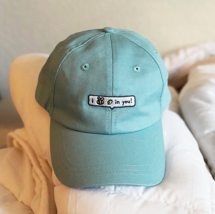 I Bee Leaf in You Embroidered Hat