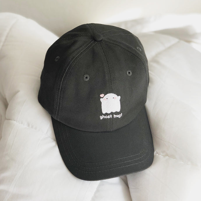 Ghost Hug Embroidered Hat