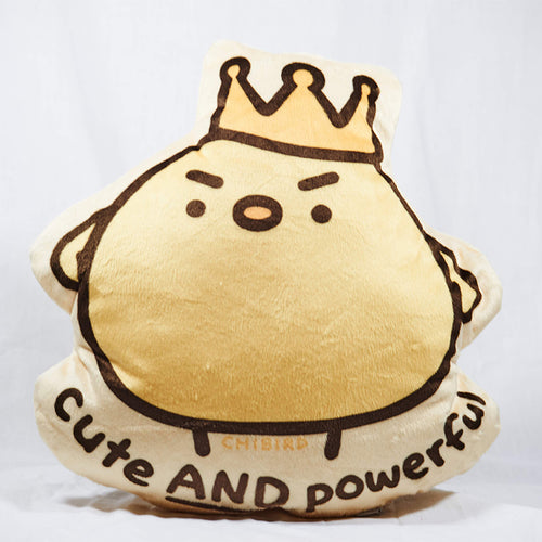 Cute & Powerful Plush Pillow