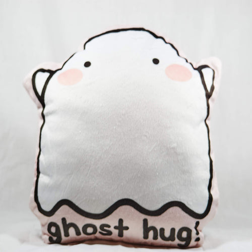 Ghost Hug Plush Pillow