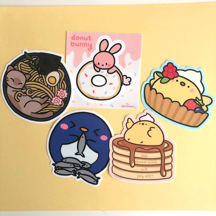 Food buddies sticker pack
