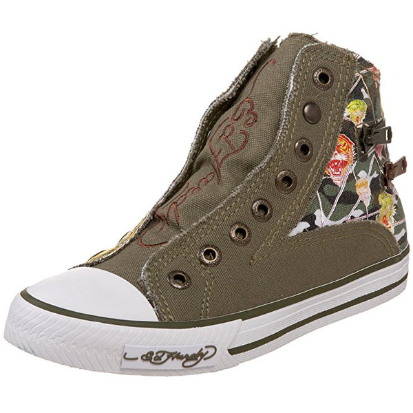 Ed Hardy Authentic HR Atlanta Military Fashion Sneaker Shoes for Kids