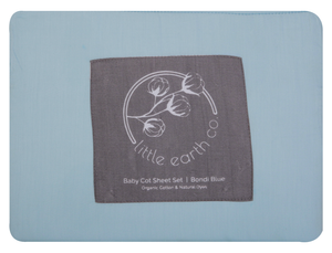 Baby Cot Sheet Set - Natural
