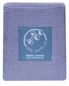 Organic Cotton Waffle Queen Blanket - Byron Blush