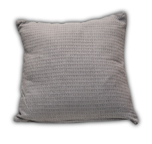 Organic Cotton Waffle Cushion - Koala Grey