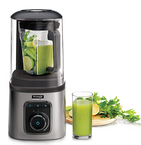 Kuvings SV500S Vacuum Fruit Blender, Silver