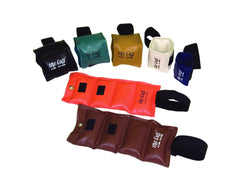 The Cuff Original Ankle and Wrist Weight - 7 Piece Set - 1 each 1, 2, 3, 4, 5, 7.5, 10 lb