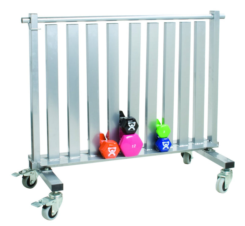 CanDo Dumbbell - Mobile Studio Rack - 1100 lb Capacity