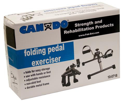 CanDo Pedal Exerciser - Preassembled and Folded Up