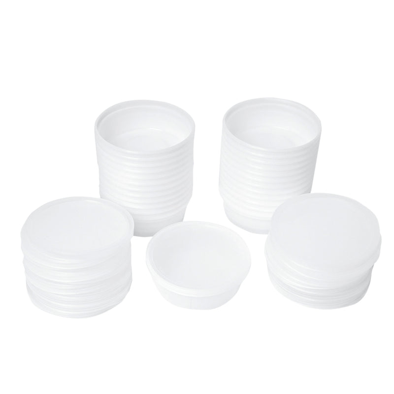containers and lids ONLY for 4 oz and 6 oz putty (25 each)