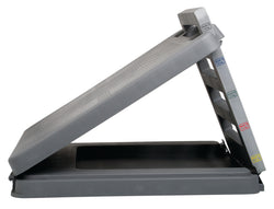 "FabStretch® 4-Level Incline Board - Heavy Duty Plastic - 5, 15, 25, 35 Degree Elevation - 14"" x 14"" Surface"