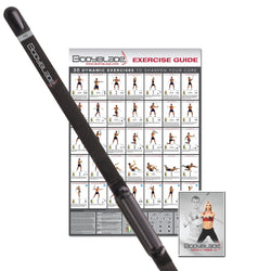 Bodyblade® Pro with wall chart and instructional video, black