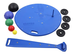 Multi-Axial Positioning System - Board, 5-Ball Set with Rack, 2 Weight Rods with Weights