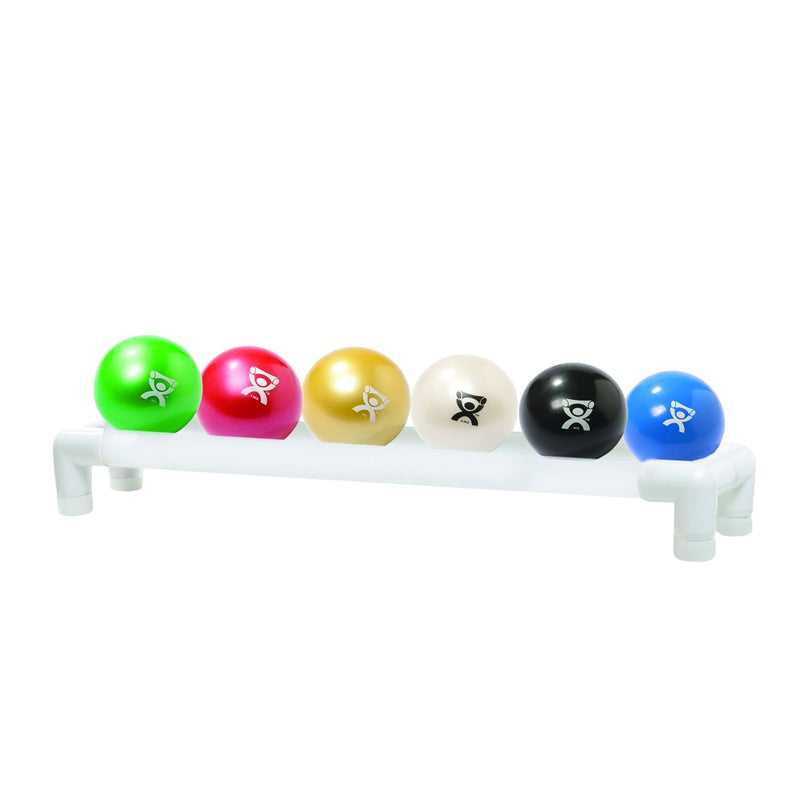 CanDo WaTE™ Ball - Hand-held Size - 6piece set (1 each: tan, yellow, red, green, blue, black)