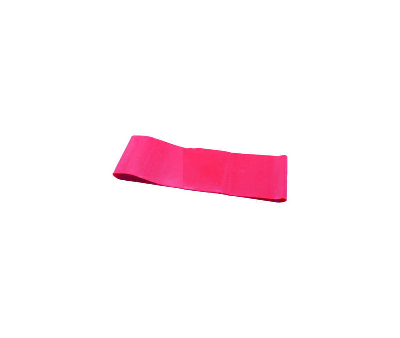 "CanDo Band Exercise Loop - 10"" Long - Red - light"