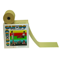 CanDo Latex Free Exercise Band 50 yard roll