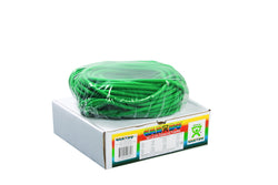 CanDo Latex Free Exercise Tubing - 100' dispenser roll- Green- Medium