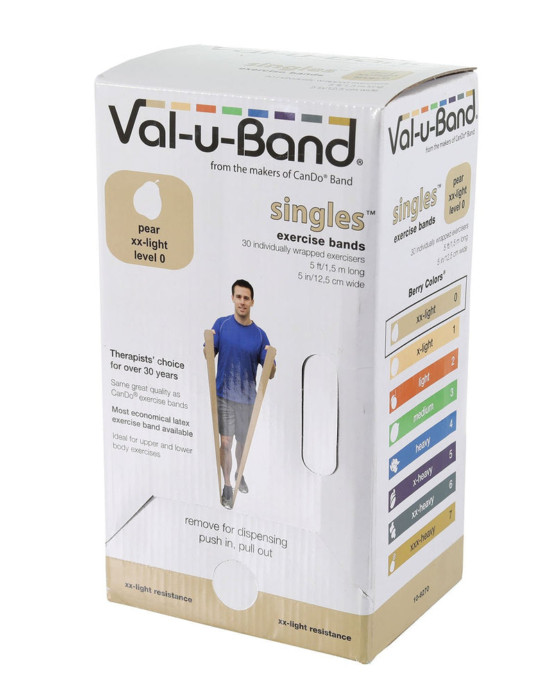 Val-u-Band - Low Powder - 5-foot strip - 30-piece dispenser - pear (level 0/7)