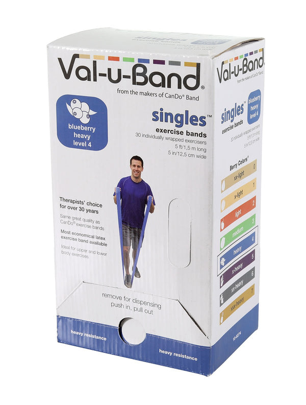 Val-u-Band - Low Powder - 5-foot strip - 30-piece dispenser - blueberry (level 4/7)