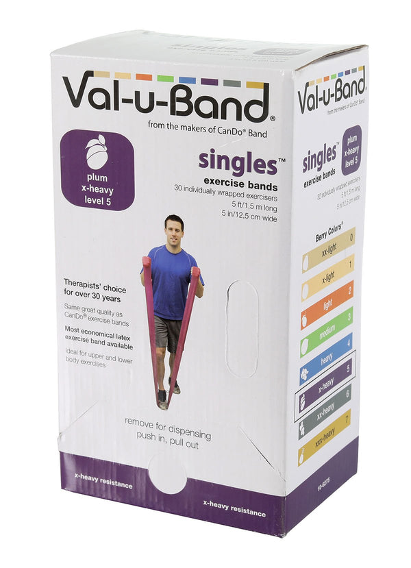 Val-u-Band - Low Powder - 5-foot strip - 30-piece dispenser - plum (level 5/7)