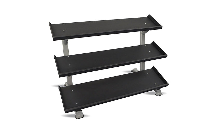 "Inflight Fitness, 69"" 3-Tier Dumbbell Rack, Tray Style"