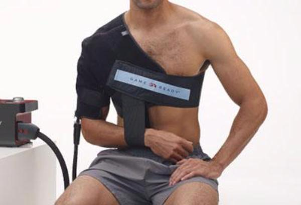 "Game Ready® Wrap - Upper Extremity - Right Shoulder with ATX - Medium (33-45"" chest)"