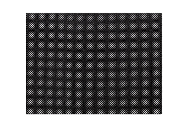 "Orfilight® Black NS, 18"" x 24"" x 1/16"", micro perforated 13%"