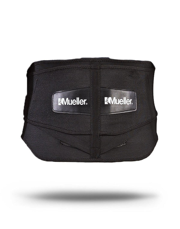 Mueller® Lumbar Back Brace w/ Removable Pad, Black, OSFM