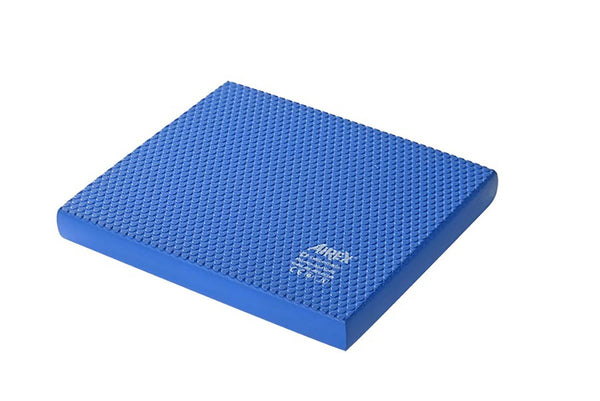 "Airex Balance Pad, Solid, 16"" x 18"" x 2"", Blue, Case of 20"