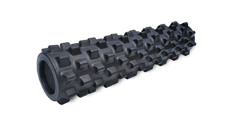 "RumbleRoller, 5"" x 22"", medium, x-firm, black"