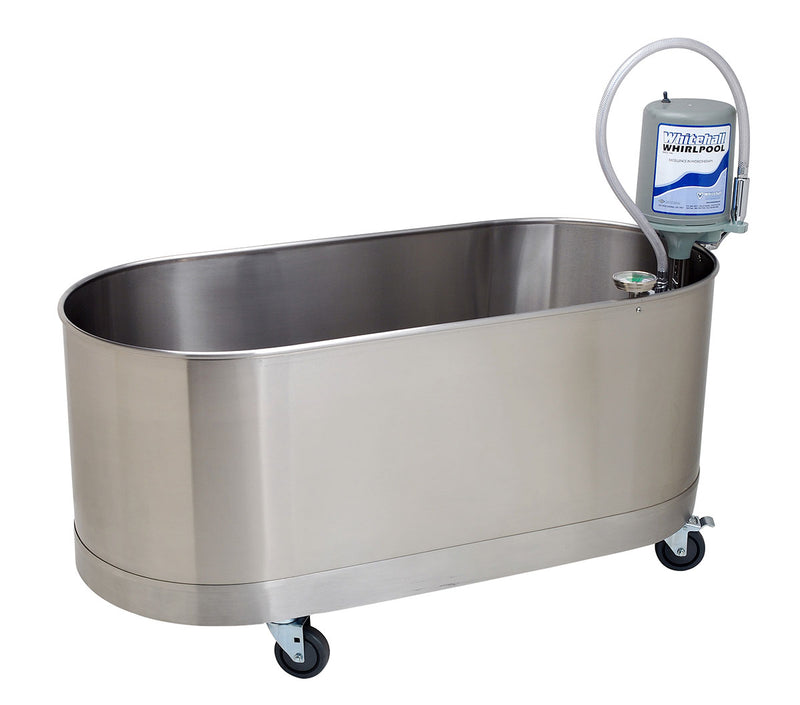 "Low boy mobile whirlpool, L-75-M, 75 gallon, 52""Lx24""Wx18""D"